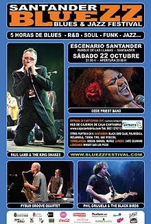 Primera edición del Bluezz Festival en Santander en Octubre 2011
