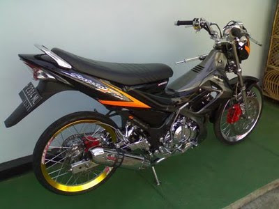 Modifikasi Satria Fu Drag Race