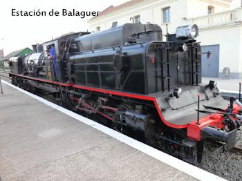 Locomotora de vapor Garrafeta