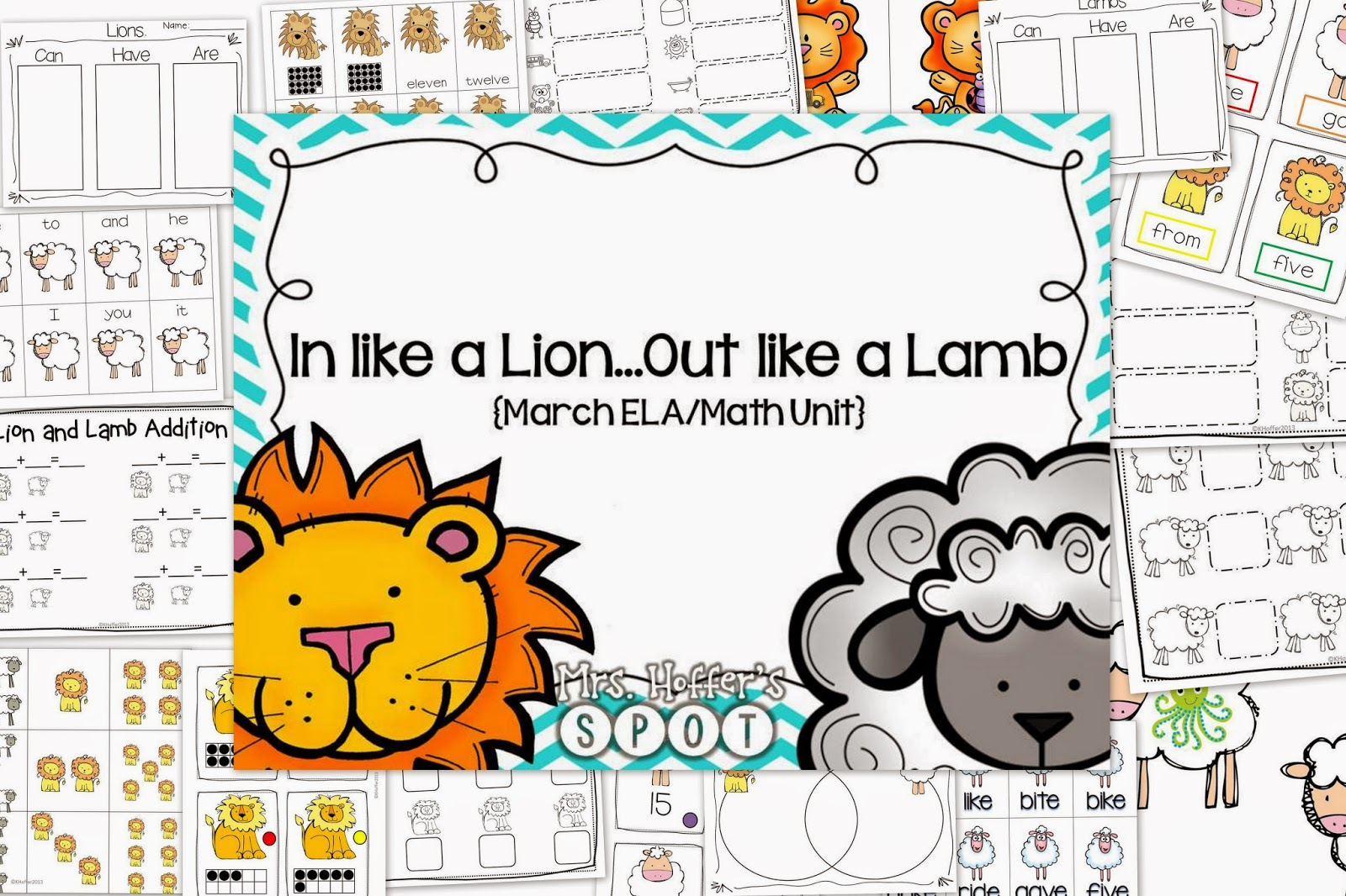 This is a unit that can be used all March! It has 3 Math Centers, 3 ELA Centers, 1 Sight Word Game, 1 Number Game and 3 Anchor Charts. It hits ending sounds, sight words, cvc words, addition, making ten and ten frames.