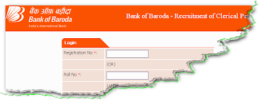 Bank Of Baroda (BOB) Clerk Recruitment 2012 Online Form
