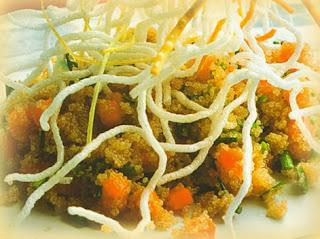 Ensalada de kiwicha con vinagreta