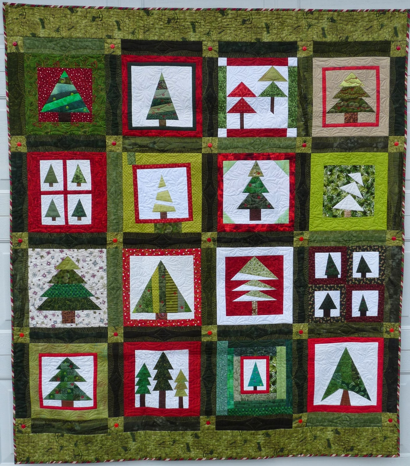 Sewing Quilt Gallery Holiday Trees