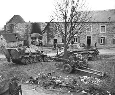 Puma-4 : Panzerspähwagen 234/2 . Panzer Lehr . Saint Lo - Normandy ...