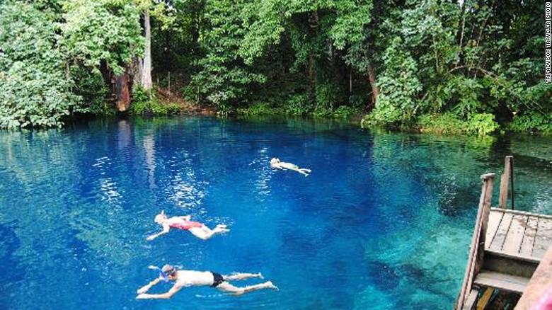 Nanda Blue Hole, Vanatu, South Pacific