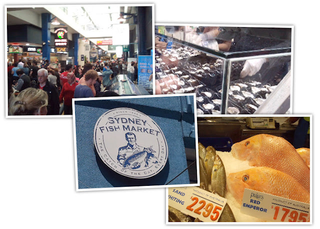 Images from Sydney Fish Market