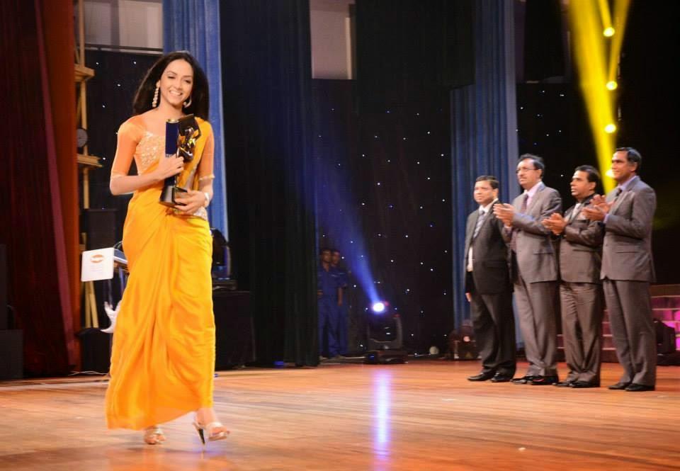 Sajana Wanigasuriya Raigam Tele Awards 2013