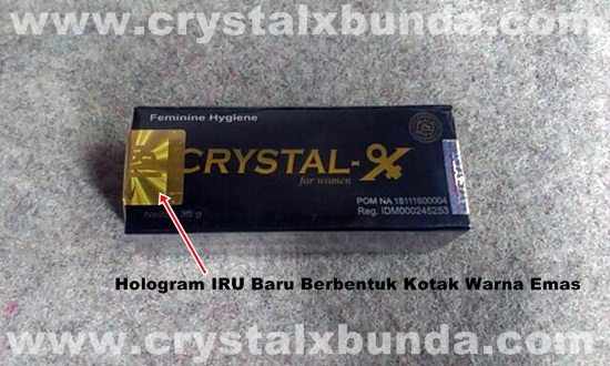 Kemasan Crystal X Terbaru 2013