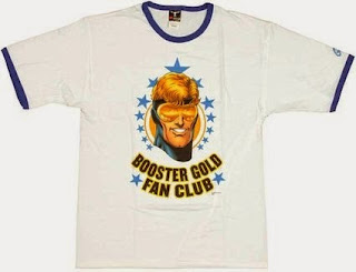 Click here to purchase your Booster Gold Fan Club t-shirt at Amazon!
