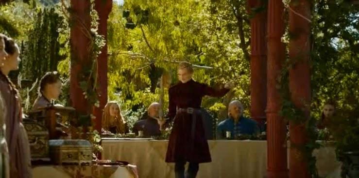 Jofrey con Lamento de Viuda - Juego de Tronos en los siete reinos