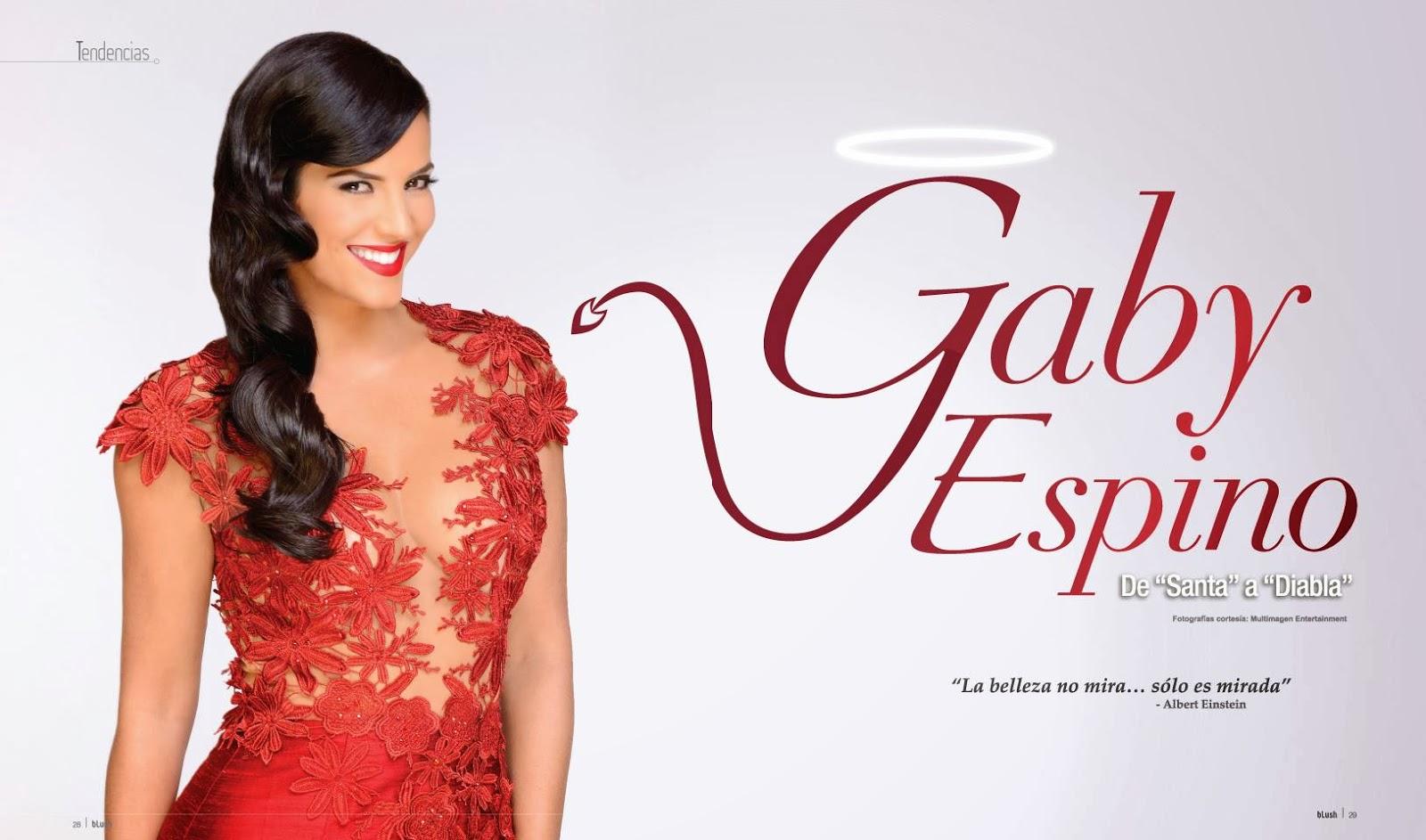 gaby espino for blush magazine november 2013