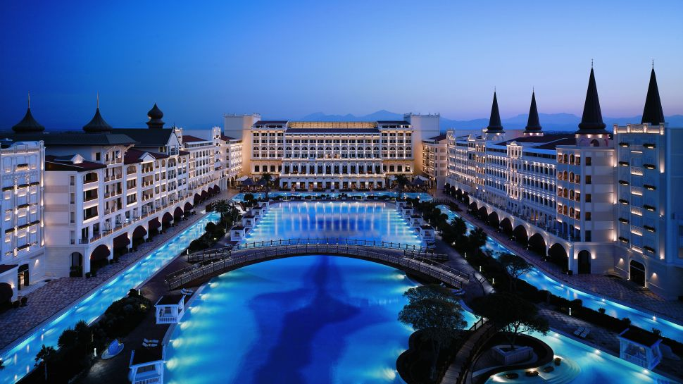 at the south coast of turkey in lara antalya is the most luxurious ...