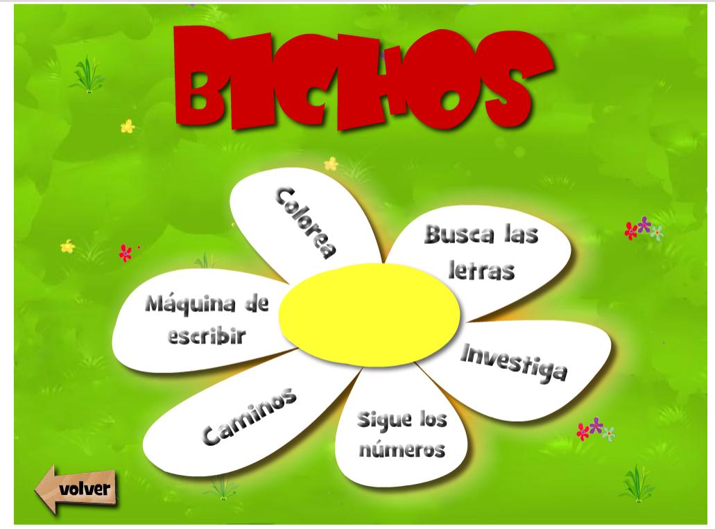 BICHOS-JUEGOS EDUCATIVOS