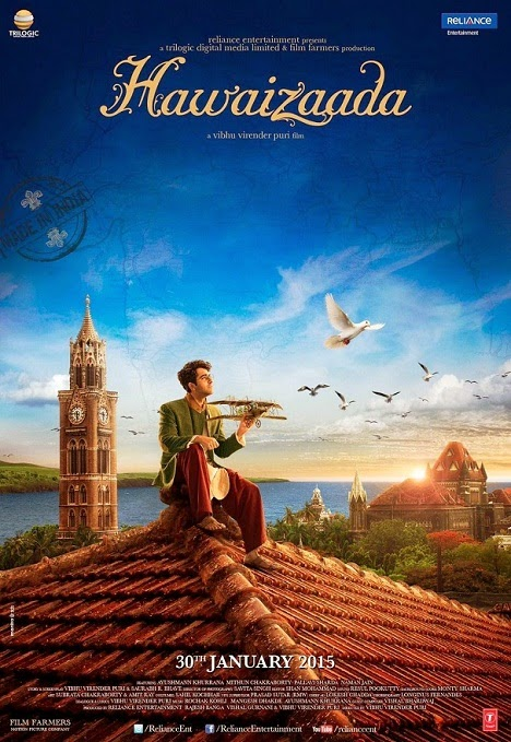 Hawaizaada Poster: Ayushmann Khurrana dreaming with his airplane