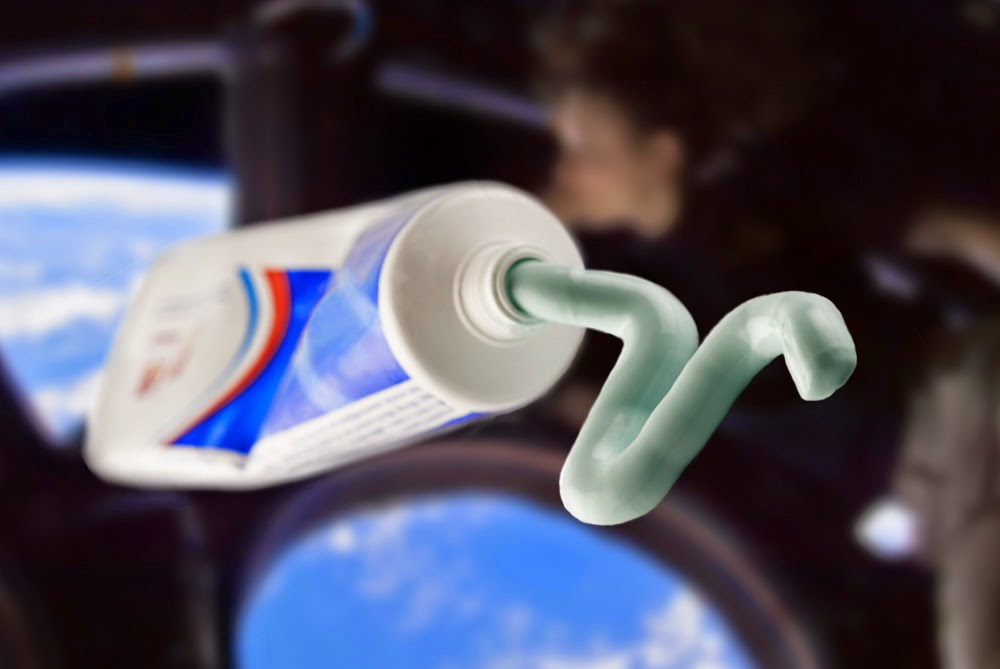 Especially for astronauts: NASA developed toothpaste in a tube form