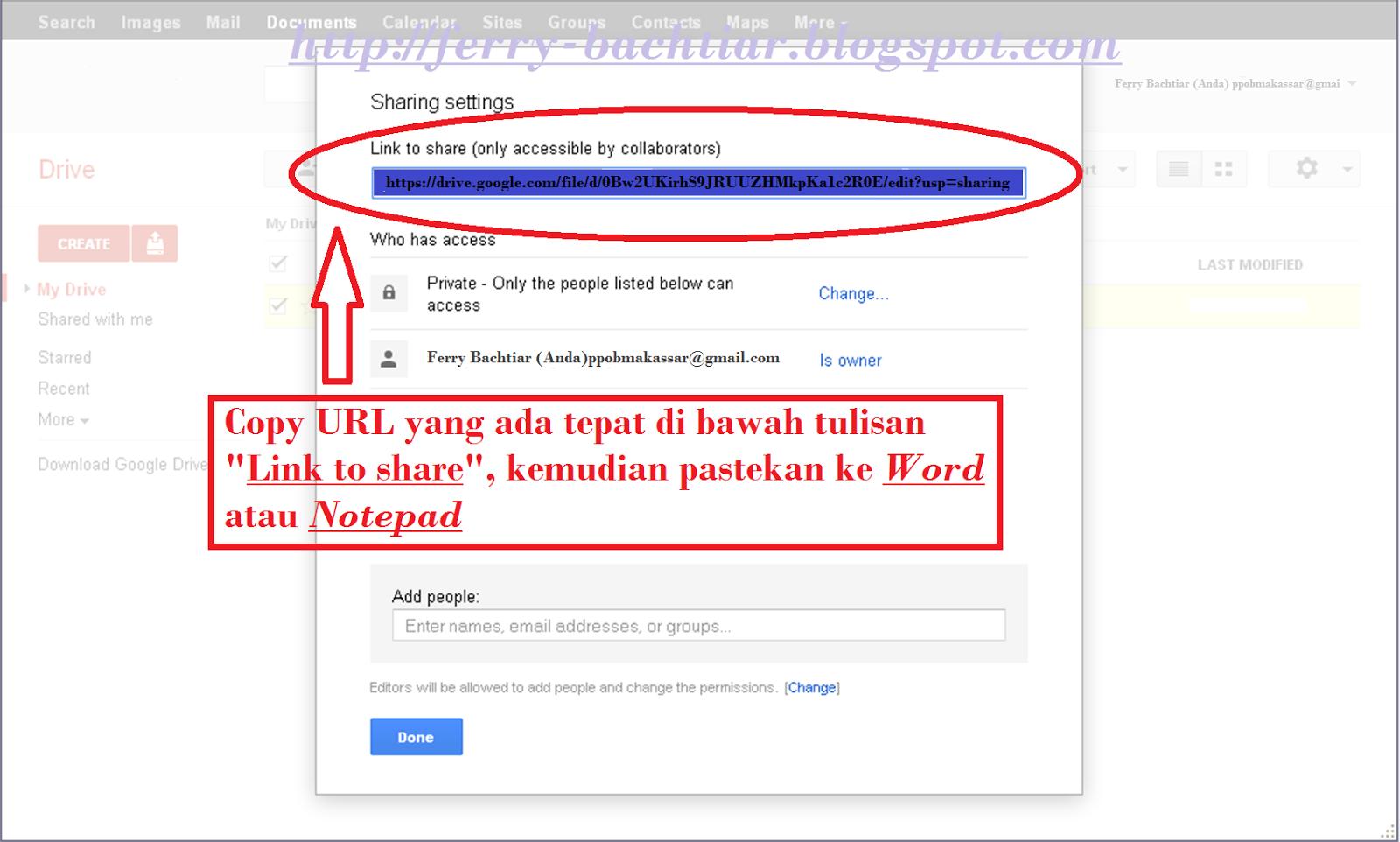 Cara membuat link download pada google drive-8