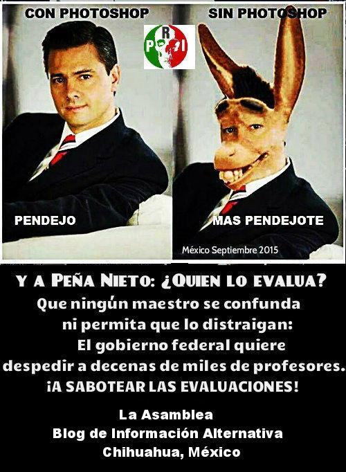 ¡LAS EVALUACIONES PUNITIVAS NO PASARAN!