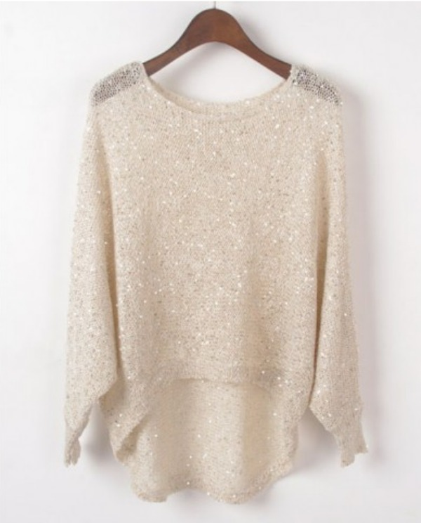Enter to WIN this sequin embellished top from @chicnova!