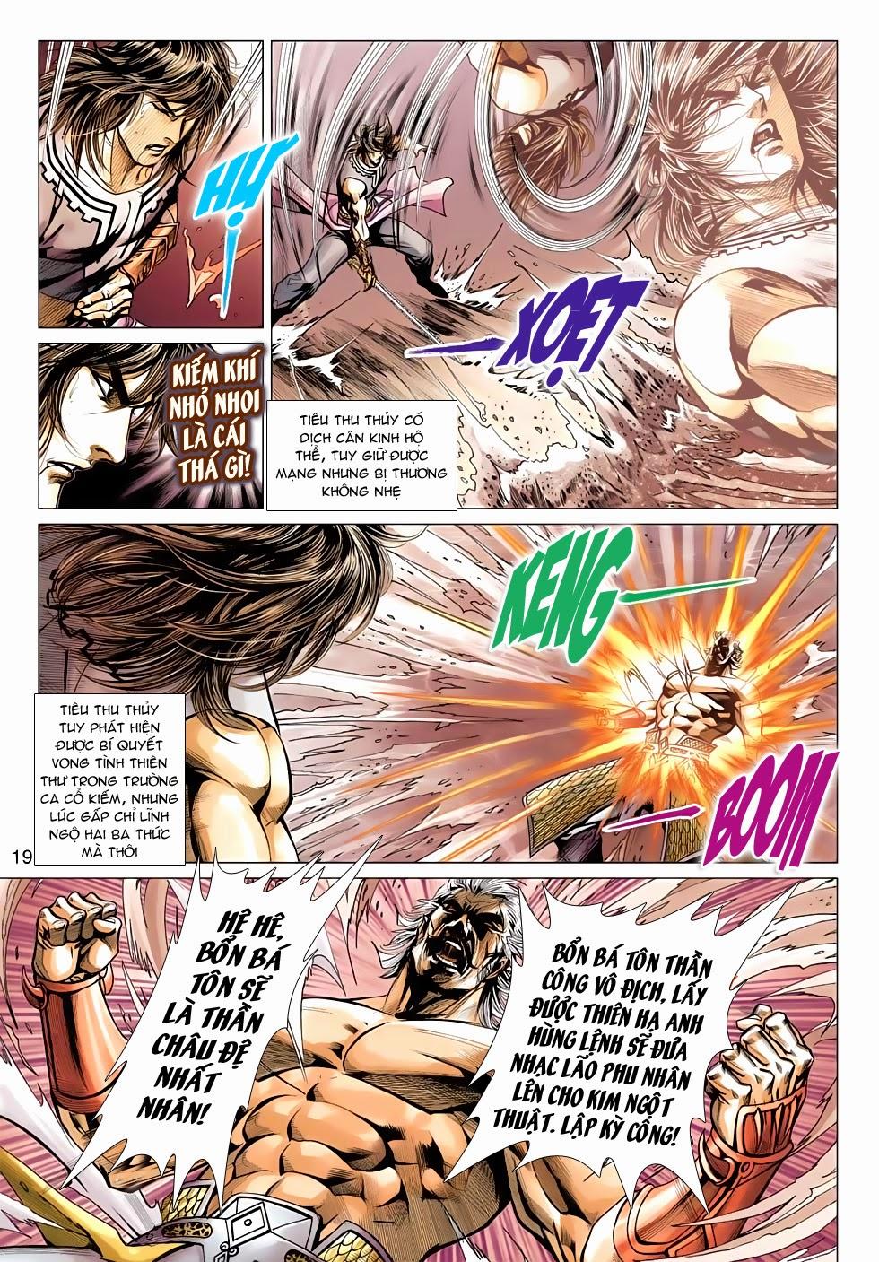 Thần Châu Kỳ Hiệp chap 32 – End Trang 19 - Mangak.info