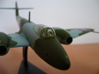 aviónes en miniatura segunda guerra mundial Italeri a escala 1:100 Meteor