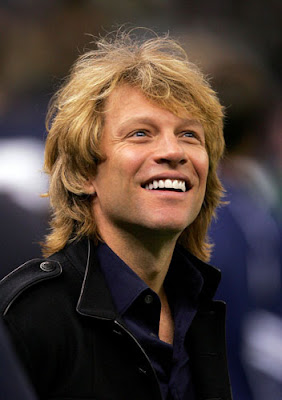 JON BON JOVI NEW HAIRSTYLE