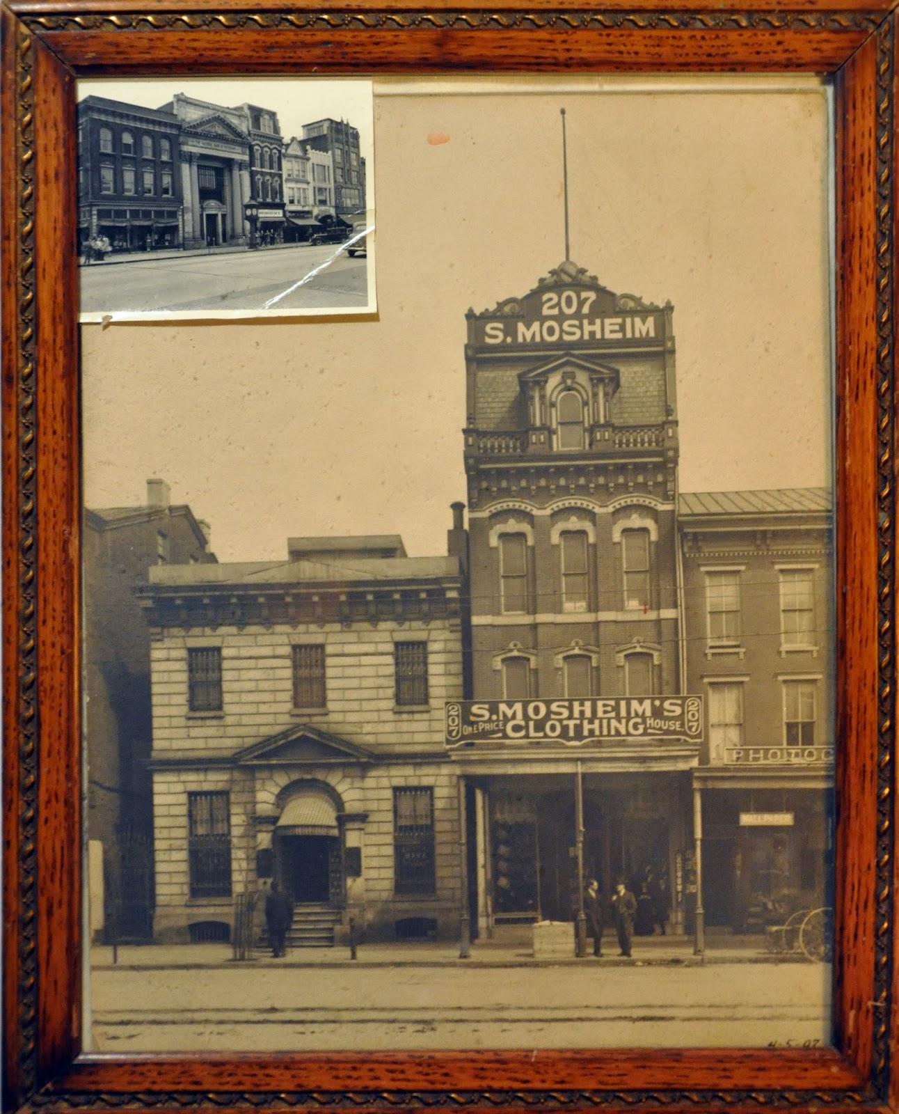 Mosheim Clothing Store .. Pottstown, Pa 1882