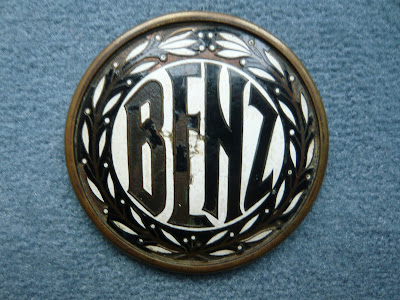 BENZ radiator emblem radiator badge vintage