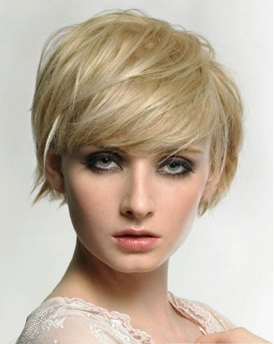 Chic Short Layered Bob Hair Style 2014