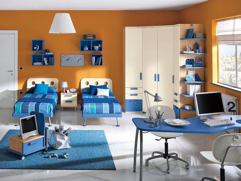 Habitaciones infantiles para dos ni os ideas para decorar dise ar y mejorar tu casa - Dormitorios infantiles dobles ...