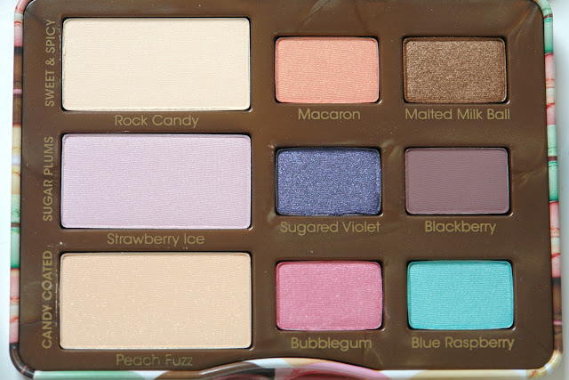Too Faced Sugar Pop eyeshadow palette review, Too Faced, eye shadows, make up, beauty, review, palette, UK blog, beauty blog, blogger, honest review, Sugar Pop, Too Faced, TFMAFIA