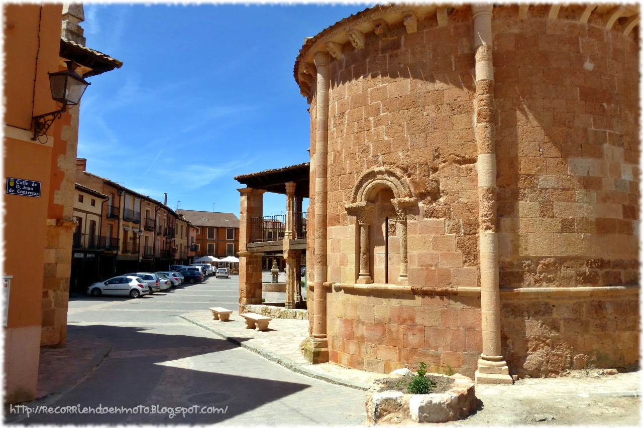 iglesia romanica San Miguel Ayllon