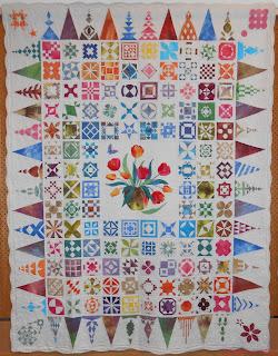 Dear Jane Quilt (Hand-Dyed Fabrics) Paula Klein