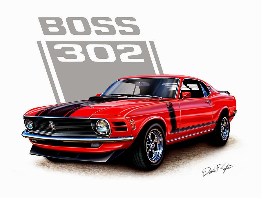 The Best Old Muscle cars 1970 Boss 302 Mustang