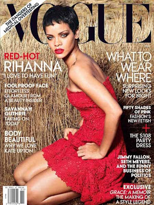 Rihanna on Vogue Cover