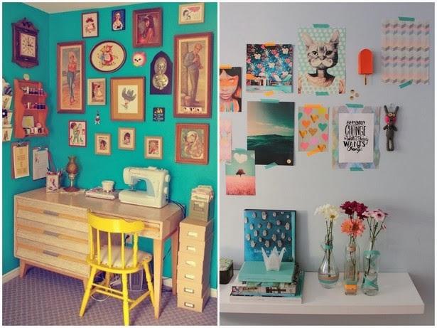 ideias criativas para decoracao de interiores:Laryssa Leal: Decoração: Criatividade