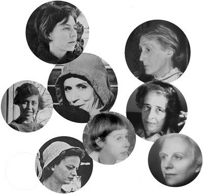 Pizarnik, Woolf, Némirovsky, Dinesen, Arendt, Morante, McCullers, Rodoreda