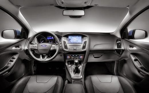 2015 Ford Focus RS Interior