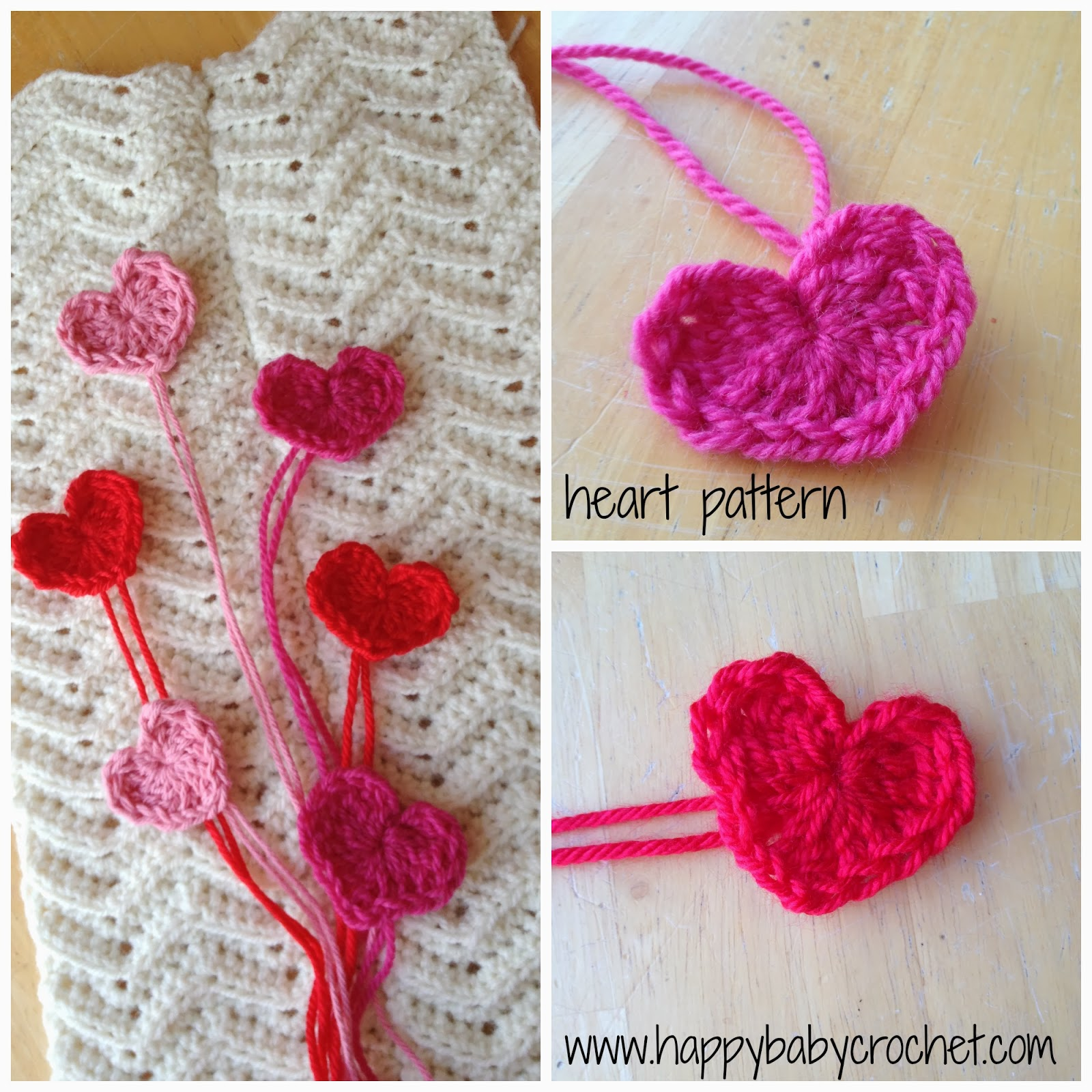 Baby crochet and photo props happybabycrochet valentines day heart pattern bankloansurffo Images
