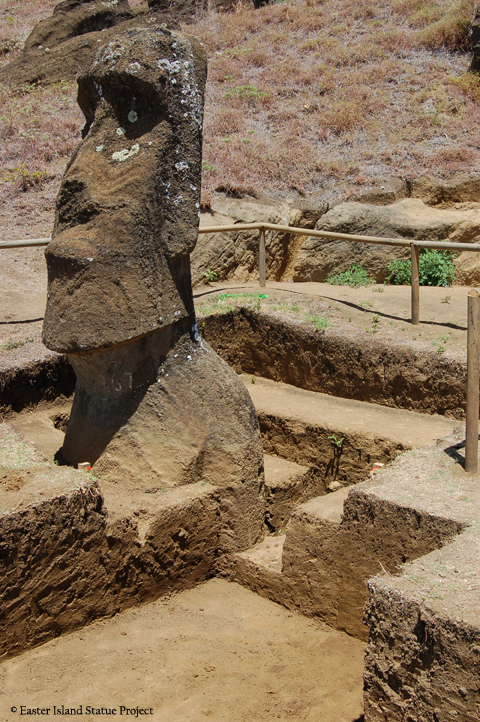 easter island statue project · the latest photographs from the easter island statue project reveal what lies beneath the surface of one of the most remote islands in the world -- the.