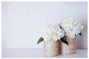 Macam macam Kerajinan Tangan, Vas Bunga Dari Kaleng Bekas