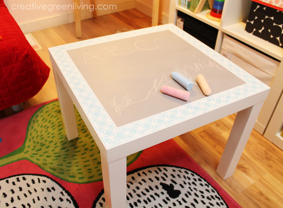 This Chalkboard Paint Is So Versatile! In Addition To This Table, I Also  Painted The Side Of My Fridge With Chalkboard Paint. Be Sure To Check It  Out!