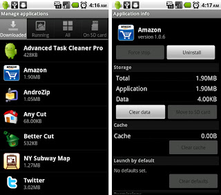 android manage applications