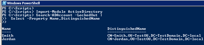 Find and Export Locked-Out AD Users using Powershell
