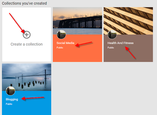 Group Your Posts By Topic With Google+ Collections Feature