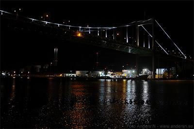 älvsborgsbron, stor bro, göteborg, by night, nattbild, på natten, på kvällen, i mörkret, tsyfpl, foto anders n