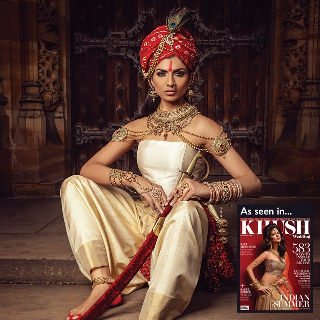 Hira Shah featured on KHUSH Magazine