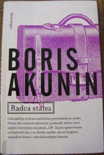 okładka ksiażki Radca stanu Boris Akunin