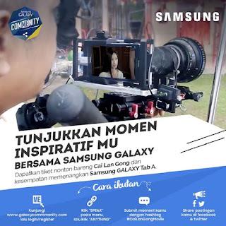 Info Kontes - Kontes Tunjukkan Momen Inspiratifmu Bersama Samsung Galax