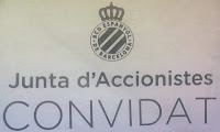 Elecciones RCD Espanyol Junta de accionistas Cornellá
