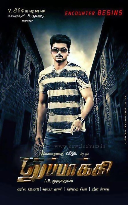 Vijay's Next Movie Thupakki Tamil Movie New Posters | New ...